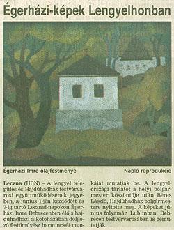 Lengyelországi kiállítás, 1998