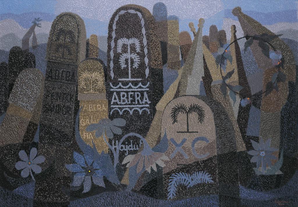 Hajdúsági református temetők fejfái