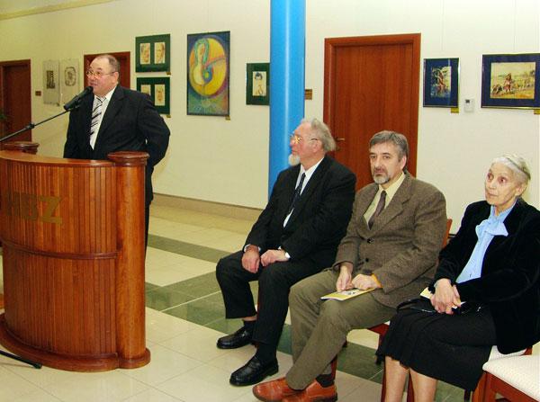 Holló-díjasok kiállításán