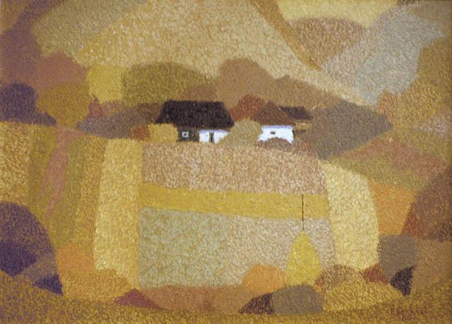 Dombok között házak