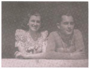 Égerházi Imre feleségével Palotai Évával