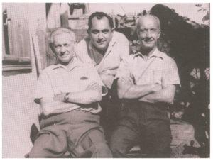 Égerházi Imre Veres Gézával és Maghy Zoltánnal