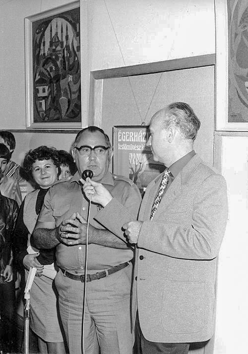 Nagy János János, interjú Égerházi Imrével