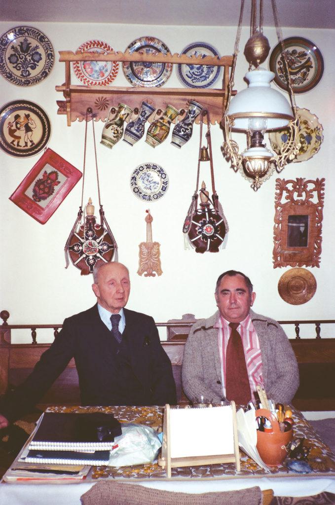 Maghy Zoltán és Égerházi Imre