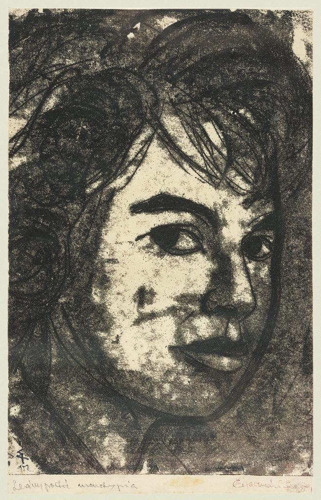 Leány portré